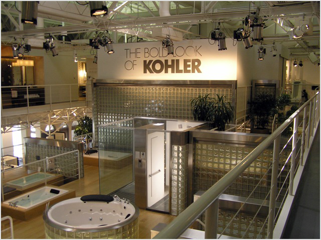 The Bold Look Of Kohler The Kohler Showroom